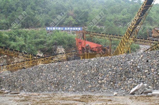 河卵石破碎生产线