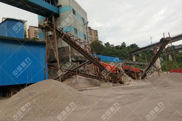 <b>河石制砂生产线</b>