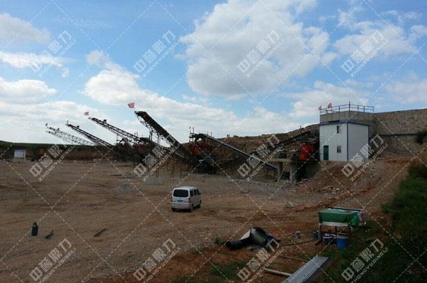 石灰石制砂生产线