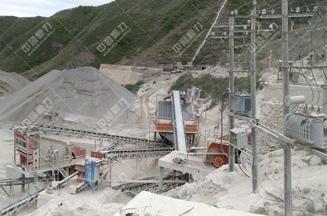 矿山尾矿制砂生产线