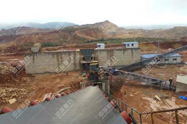 云南文山时产1000吨石料厂