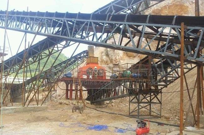 广西南宁福松建材通润采石场生产