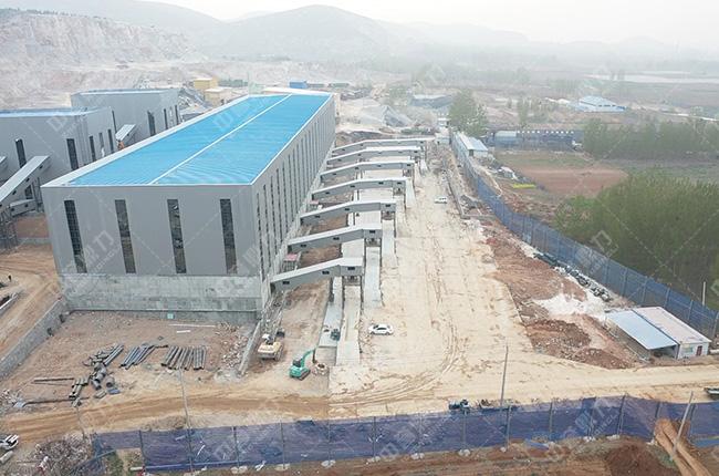 山东邹城时产800-1500吨石子生产
