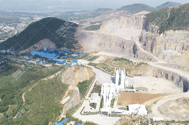 登封嵩基建材时产1300-1500吨骨料生产线