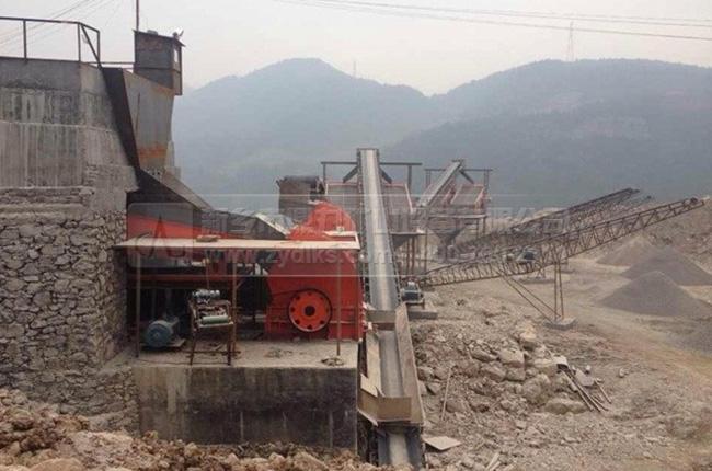 浙江湖州时产1200吨石子生产线