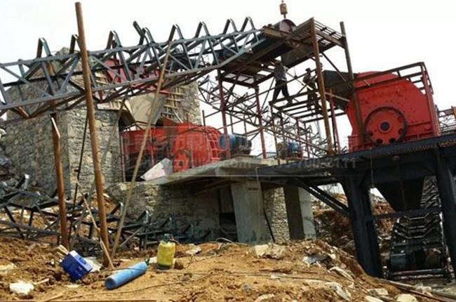 贵州贵阳中磊城投建材时产400吨石料生产线